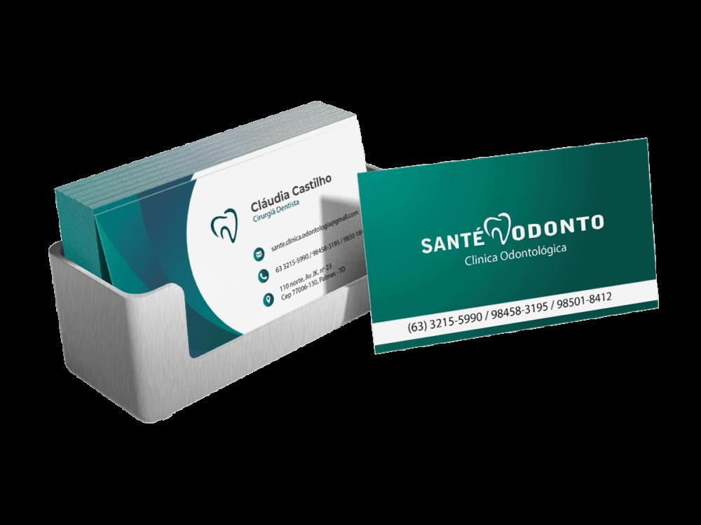 Mockup Cartão Santé Odonto