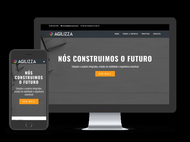 Mockup Website Agilizza
